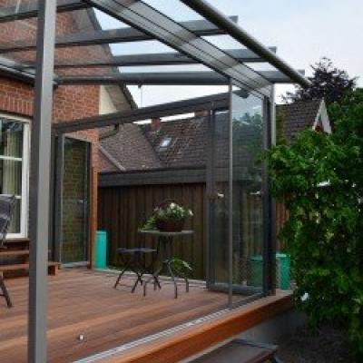 Terrassenüberdachung Glashaus Atrium Solarlux
